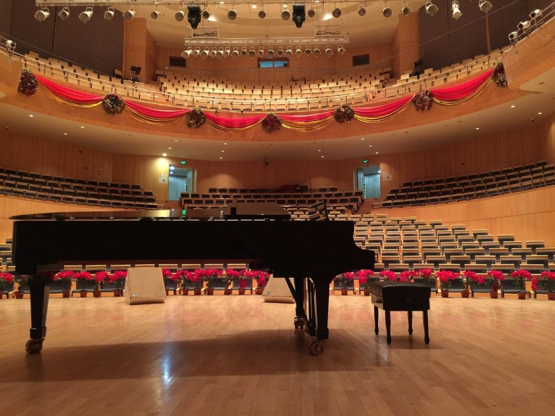 コンサートホールの画像です
