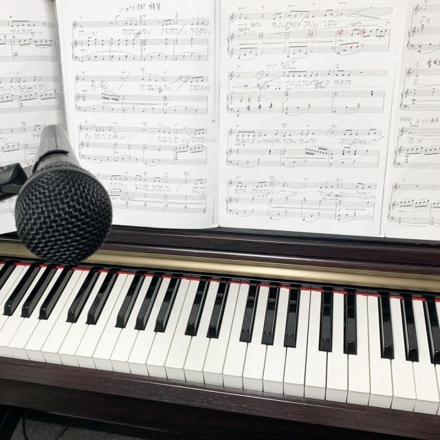 弾き語りの楽譜です