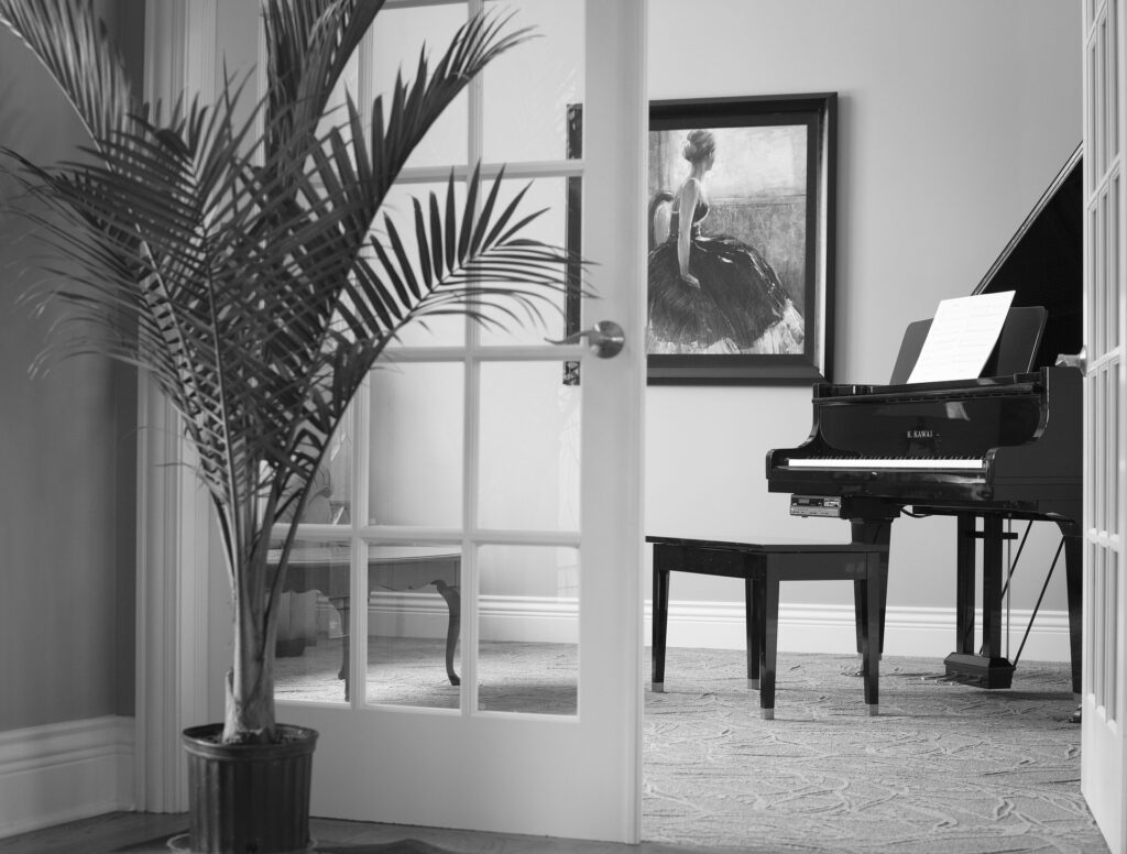 ピアノ部屋を考えよう!置く場所の注意点やおすすめの場所は?